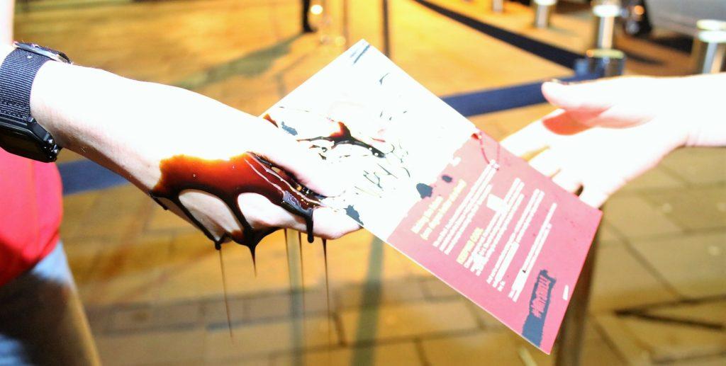 Spoof Shell reps gatecrash Manchester exhibition launch