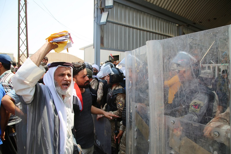 Iraqis have held massive protests against the impacts of foreign oil companies